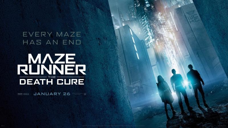 MAZE RUNNER; DEATH CURE POSTER