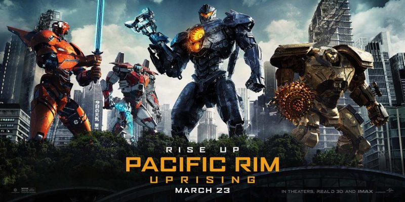 PACIFIC RIM UPRISING WS POSTER