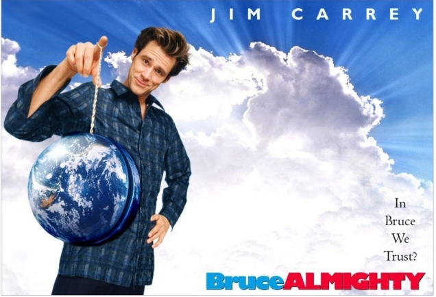 BRUCE ALMIGHTY WS POSTER PRIME