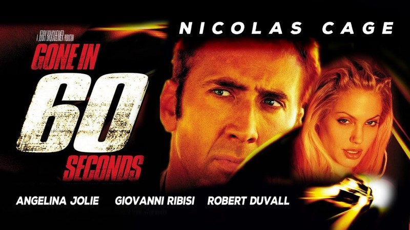GONE IN 60 SECONDS WS POSTER