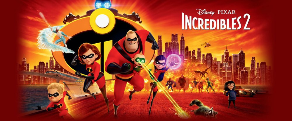 INCREDIBLES 2 WS POSTER