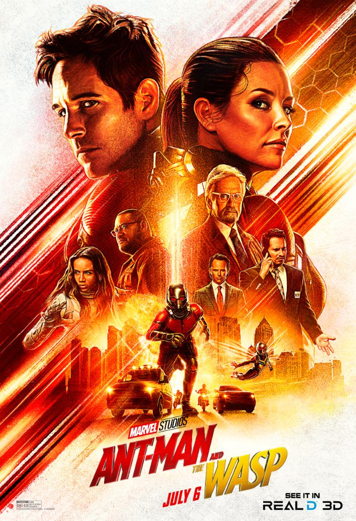 ANTMAN AND THE WASP MOVIE POSTER 2