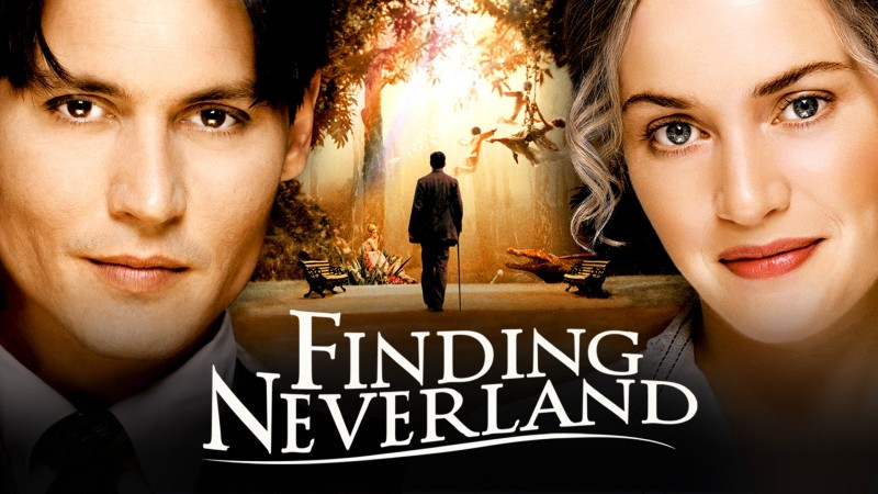 FINDING NEVERLAND WS MOVIE POSTER
