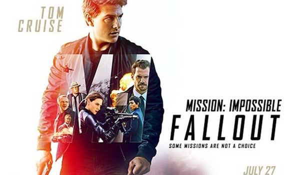 MISSION IMPOSSIBLE ; FALLOUT WS MOVIE POSTER