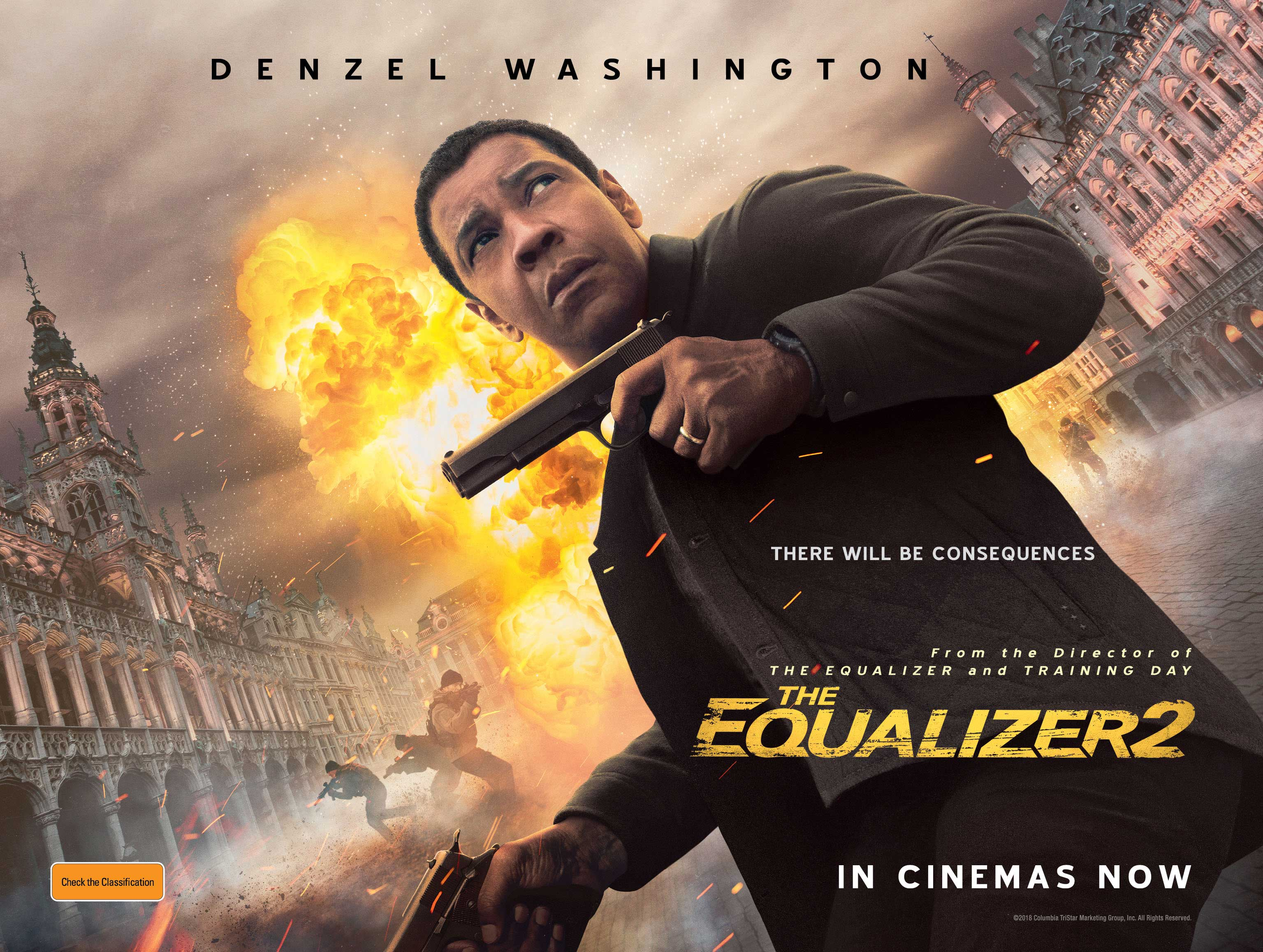 2018 Movie Posters: THE EQUALIZER 2 (2018) MOVIE REVIEW.