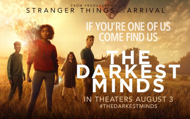 THE DARKEST MINDS WS MOVIE POSTER